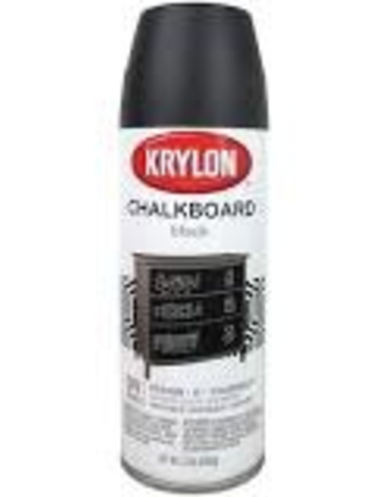 Krylon Chalkboard Spray Black 12 Ounce