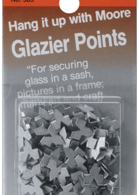 Moore Moore Glazier Points #7 85pc