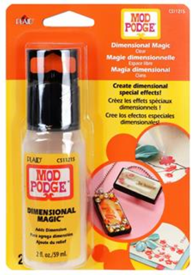 Plaid Plaid Mod Podge Dimensional Carded 2oz