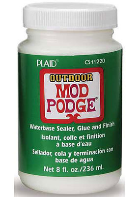 Plaid Mod Podge Outdoor 8 Ounce