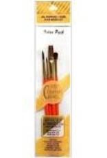 Royal Brush Crafter's Choice Camel Hair Brush Set