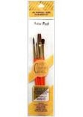 Royal Brush Crafter's Choice Camel Hair Brush Set