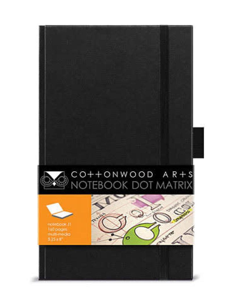 Cottonwood Arts Cottonwood Dot Matrix Notebook 5.25X8