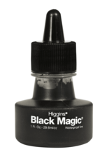 Higgins Higgins Ink Black Magic Waterproof 1 Ounce