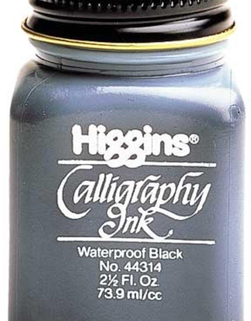 Higgins Ink Calligraphy Waterproof Black 2.5 oz