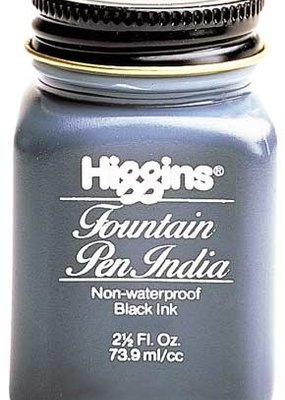 Higgins Fountain Pen India Ink 2.5 Ounces