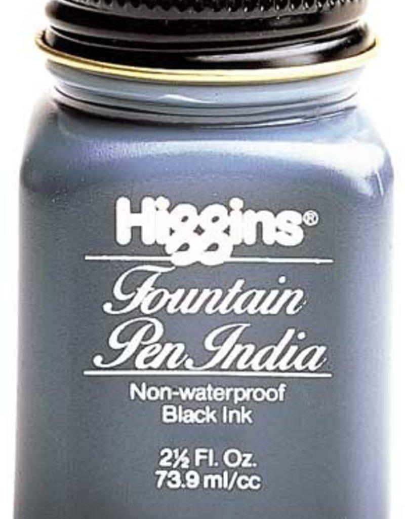 Higgins Fountain Pen India Ink 2.5 Ounces