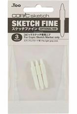 Copic Copic Fine Nib Sketch 3 Pack