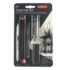 Derwent Charcoal Drawing Set 10-Piece Set
