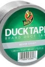 Duck Tape Duck Tape Silver Coin 1.88 Inch X 15 Yards