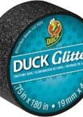 Duck Tape Duck Tape Mini Glitter Black