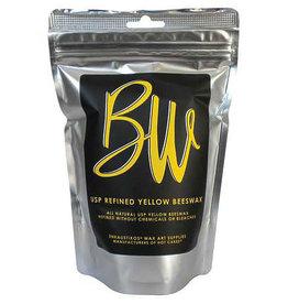 Enkaustikos USP Refined White Beeswax 8 Oz