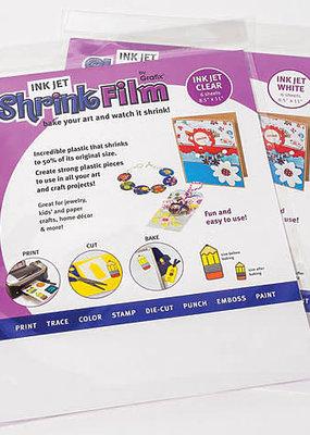 Grafix Ink Jet Shrink Film 8.5 X 11 Clear