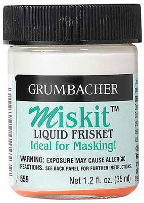 Grumbacher Miskit Liquid Frisket 1.2 Ounce