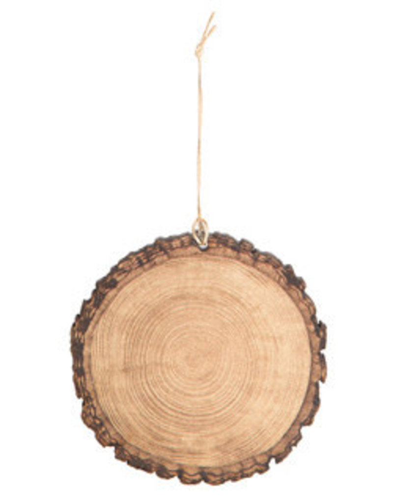 Sierra Pacific Crafts Wood Disk Ornament