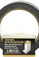 Lineco/University Products Book Repair Tape Book Cloth Black