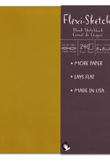 Global Art Flexi-Sketch Book 8 X 8 Butternut
