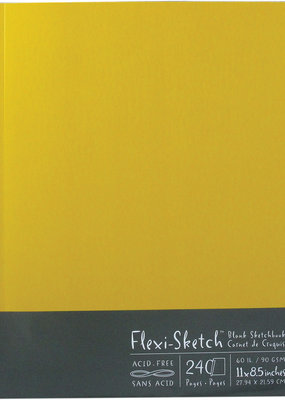 Global Art Flexi-Sketch Book 11 X 8.5 Butternut