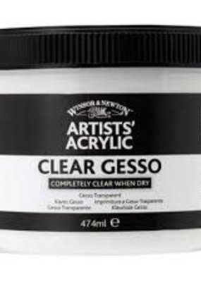 Winsor & Newton Clear Gesso 474 ml Jar
