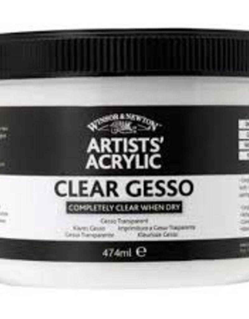 Winsor & Newton Clear Gesso 474 ml Jar