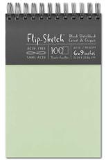 Global Art Flip-Sketch Sketch Books 6 X 9 Mist
