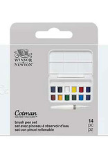 Winsor & Newton Cotman Watercolor And Water Brush Pen 14 Set