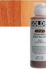 Golden Golden Fluid Acrylic Quinacridone/Nickel Azo Gold 4 Ounce