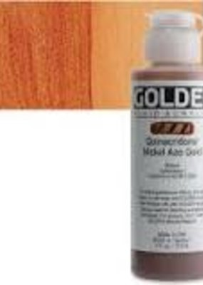 Golden Golden Fluid Acrylic Quinacridone/Nickel Azo Gold 4 Ounce