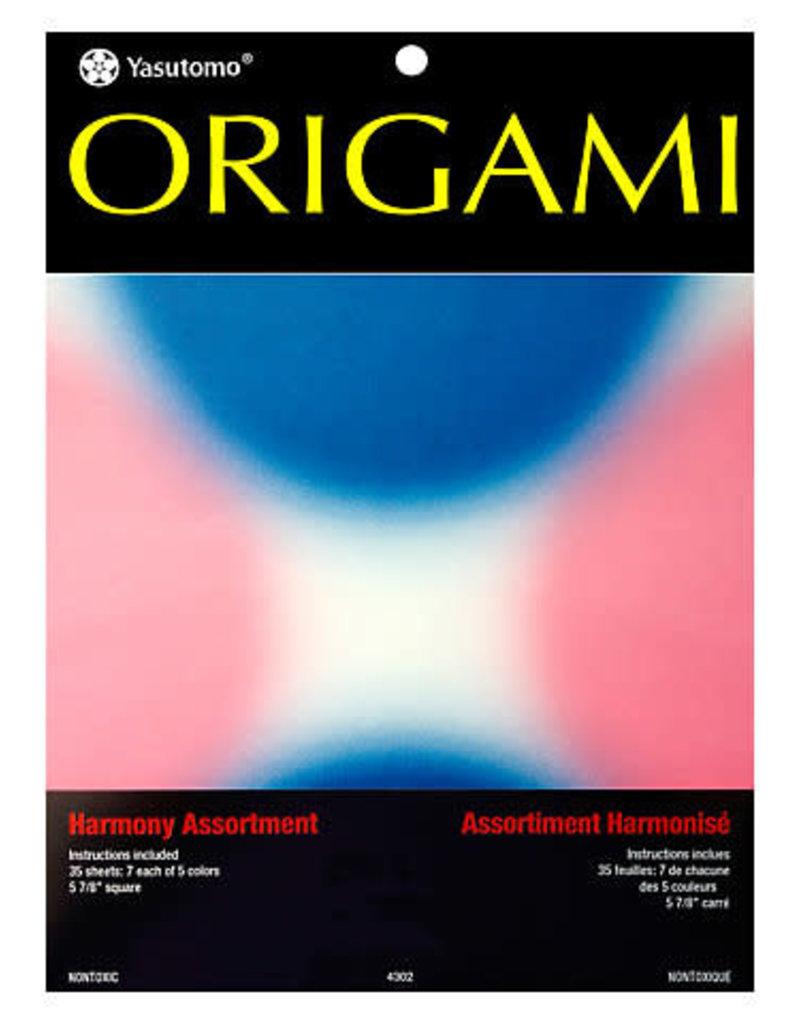 Yasutomo Origami Paper Pack Harmony 35 Assorted Sheets