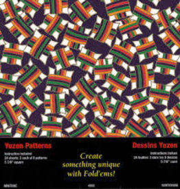 Yasutomo Origami Yuzen Pattern 24 Sheet