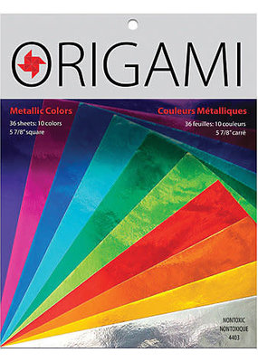 Yasutomo Origami Metallic 10 Colors 36 Sheets