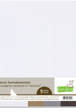 Cardstock Neutral Woodgrains 5 Piece