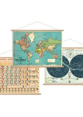 Cavallini Papers & Co. Poster Hanging Kit Horizontal