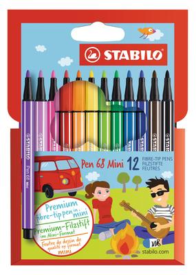 Stabilo Stabilo Pen 68 Mini Set Of 12