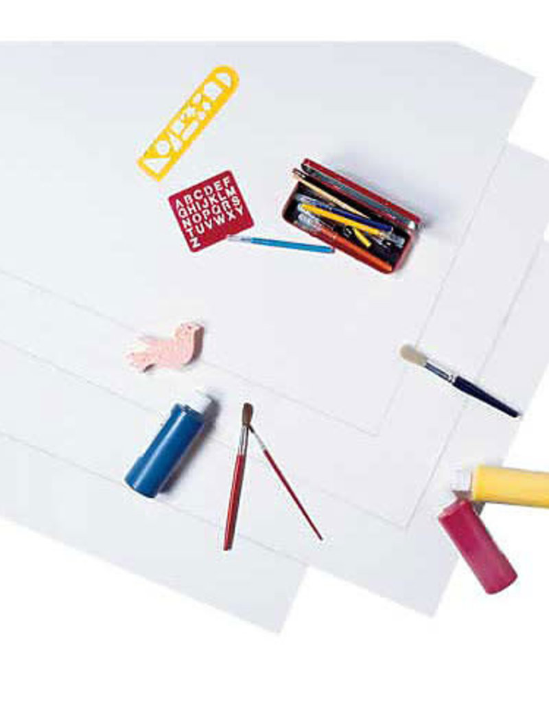 Pacon Poster Board Economy 22 X 28 White