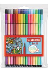 Stabilo Stabilo Pen 68 Wallet Set of 30