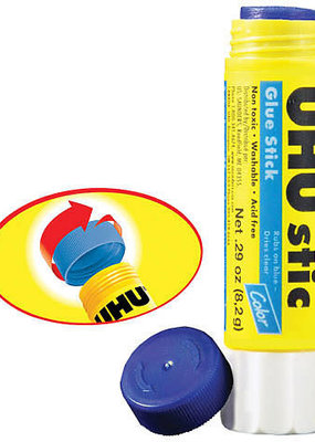 Uhu UHU Glue Stick Large .74 oz Purple