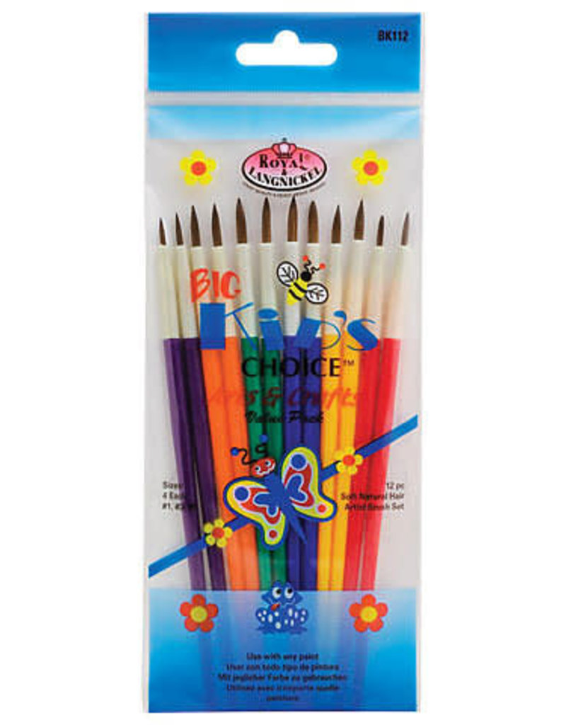 Royal Brush Brush Set Big Kids Choice Deluxe Beginner
