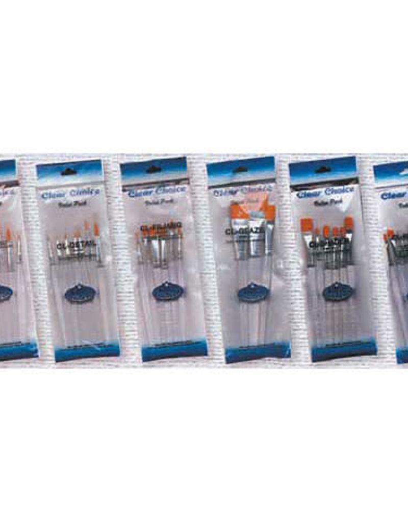 Royal Brush Clear Choice Brush Set Washes