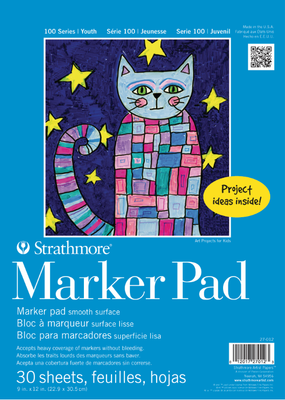 Strathmore Strathmore Kids Marker Paper Pad 9 x 12 Inch