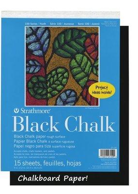 Strathmore Strathmore Kids Black Chalk Paper Pad 9 x 12 Inch