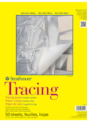 Strathmore Strathmore Tracing Paper Pad 300 Series 11 x 14 Inch