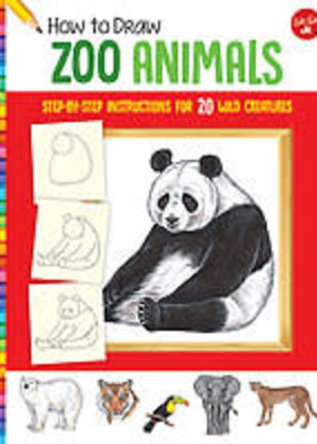 Walter Foster How to Draw Zoo Animals