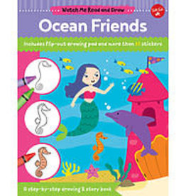 Walter Foster Watch Me Read and Draw Ocean Friends