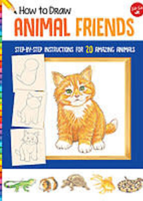 Walter Foster How to Draw Animal Friends