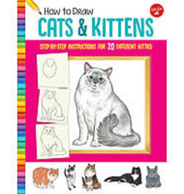 Walter Foster How to Draw Cats and Kittens