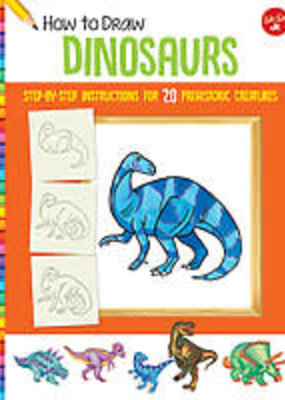 Walter Foster How to Draw Dinosaurs