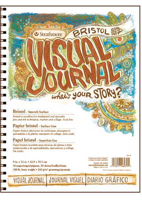Strathmore Strathmore Visual Journal Bristol Smooth Pad 9 x 12 Inch