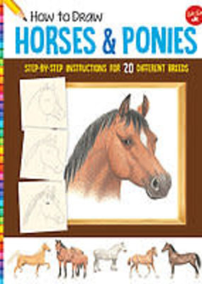 Walter Foster How to Draw Horses and Ponies