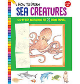 Walter Foster How to Draw Sea Creatures